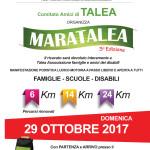 Volantino Maratalea 2017