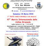 Volantino CAMMINATA G.S.MICHELE marzo 2018 (1)