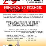 volantino CAMMINATA FINE ANNO 29 DICEMBRE