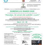 Volantino corsa Asnago - 01 Marzo 2020low